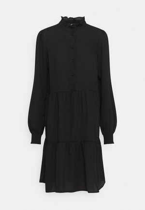 PCLULLA DRESS  - Košilové šaty - black