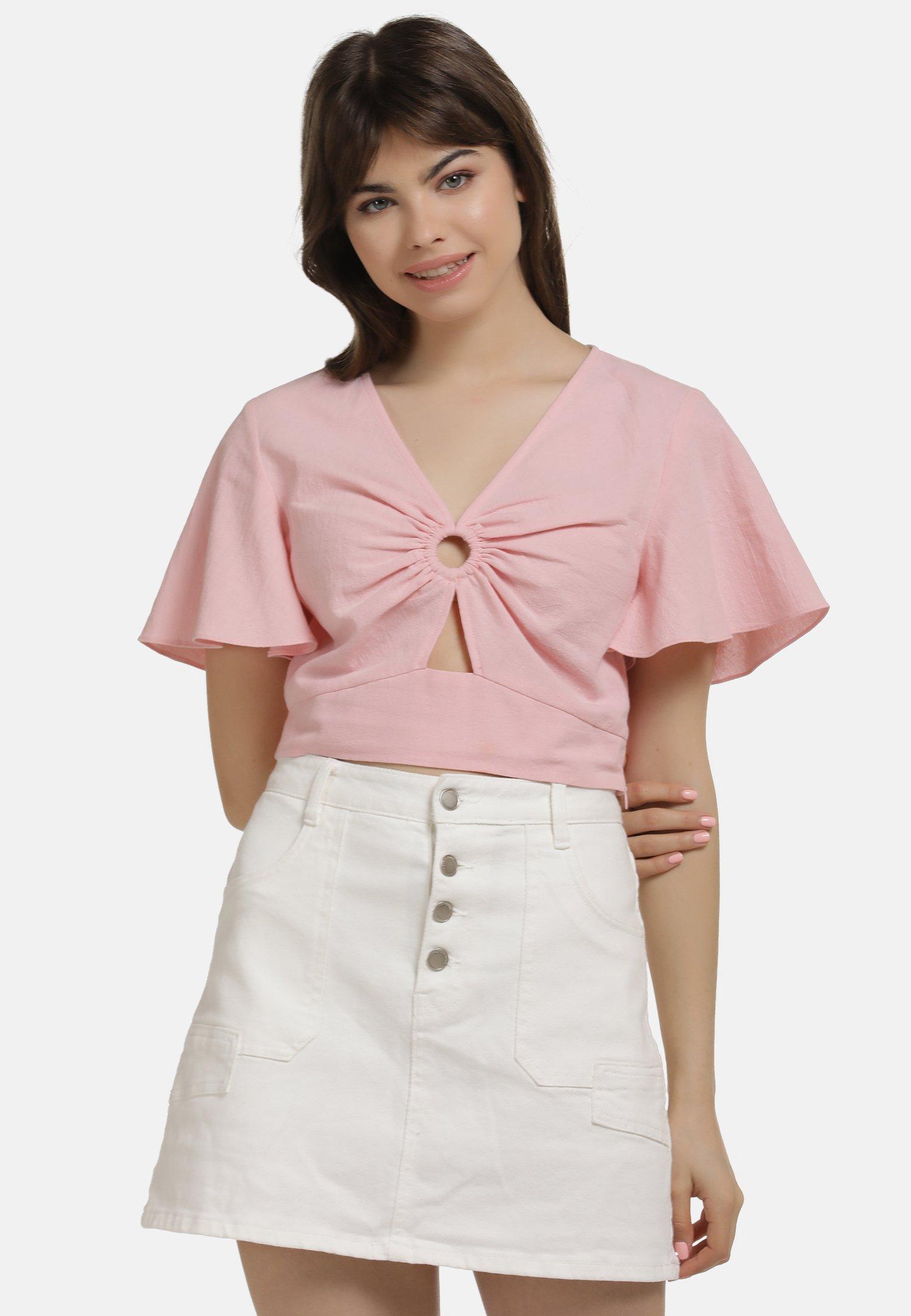 Nice Women's Clothing myMo SHIRT Blouse pink FSapM928Q