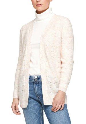 LOOSE FIT - Cardigan - off-white melange