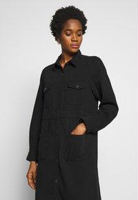 Monki - JAMIE DRESS - Denim dress - black dark - 3