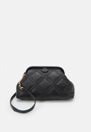FLEMING SOFT FRAME SHOULDER BAG - Handbag - black