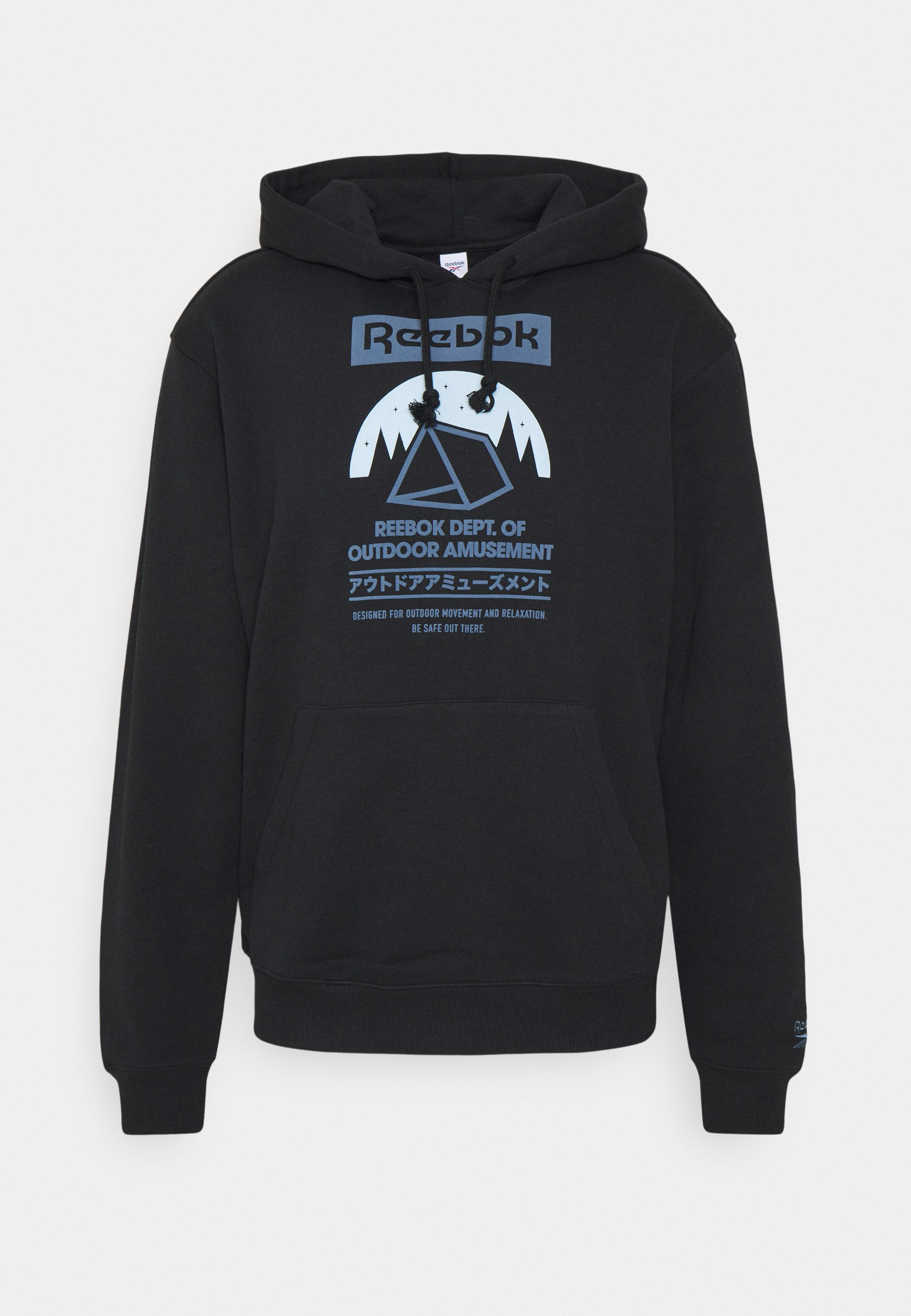 Homme CAMPING GRAPHIC HOODIE - Sweat à capuche