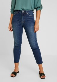 ONLY Petite - ONLEMILY - Jean droit - dark blue denim - 0
