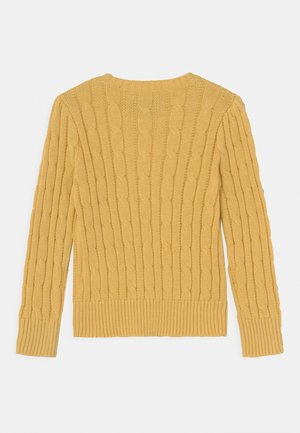 CABLE - Pullover - campus yellow