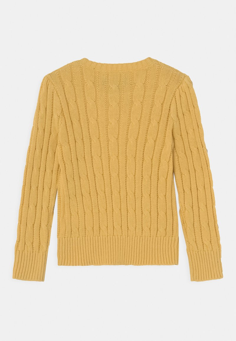 Polo Ralph Lauren - CABLE - Pullover - campus yellow