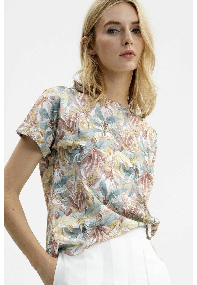 Print T-shirt - tropical