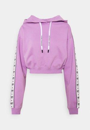 LOGOMANIA TAPE - Sweatshirt - violet tulle