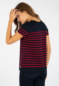 Armor lux - ETEL MARINIÈRE - Print T-shirt - rich navy braise - 2