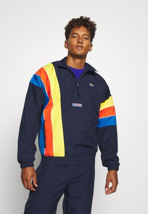 ZIP JACKET RAINBOW - Trainingsvest - navy blue/utramarine-gladiolus-wasp