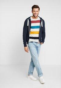 TOM TAILOR DENIM - CUTLINE  - Zip-up hoodie - sky captain blue - 1