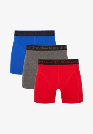 3 PACK - Underkläder - red grey blue