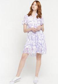 LolaLiza - GRAPHIC PRINT - Day dress - purple - 1