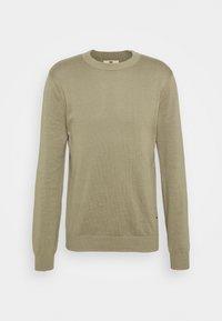JONAS - Stickad tröja - trech green