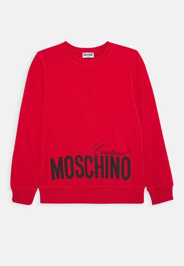 Sweatshirt - flame red