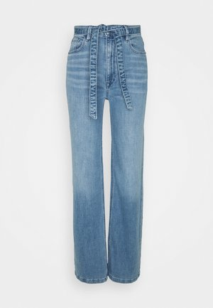 MED WIDE LEG - Jeans a zampa - blue light wash