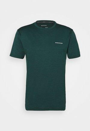 MELANGE TEE - Basic T-shirt - ponderosa pine