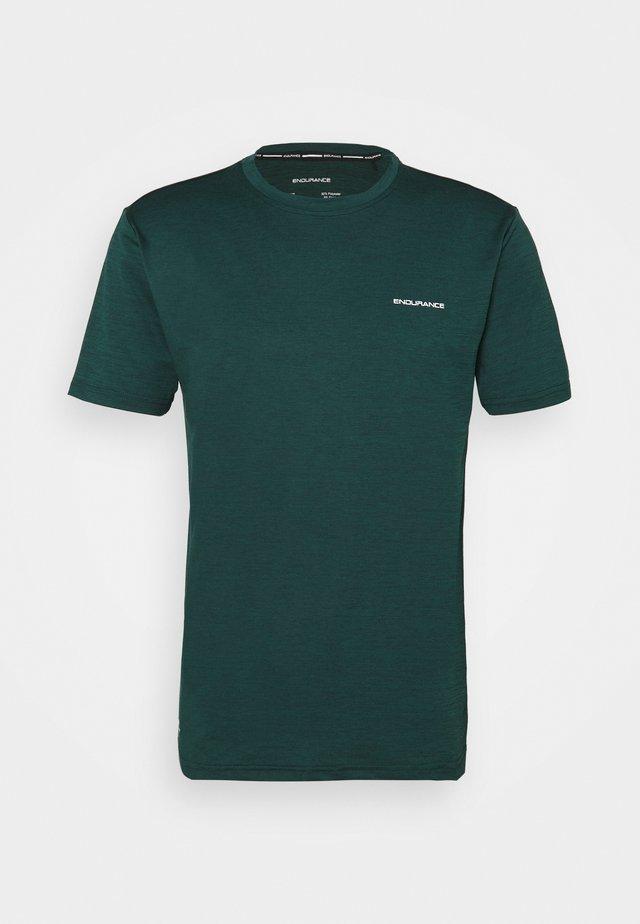 MELANGE TEE - T-shirts basic - ponderosa pine
