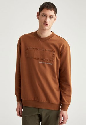 OVERSIZED - Sweater - brown