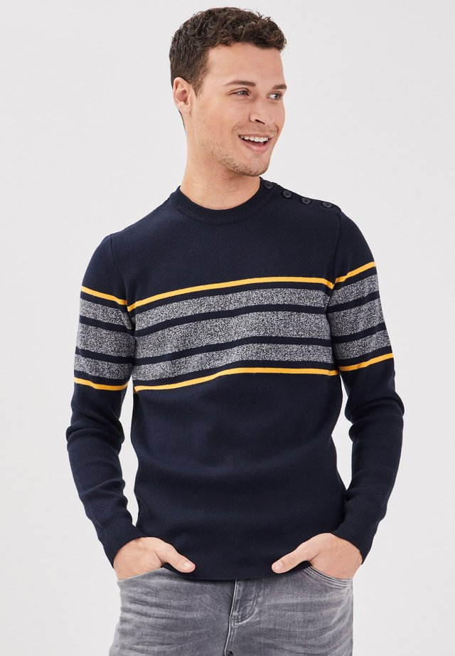LONG SLEEVE - Jersey de punto - dark blue
