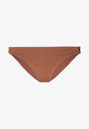 STARDUST CHEEKY HIPSTER - Bikini bottoms - bronze