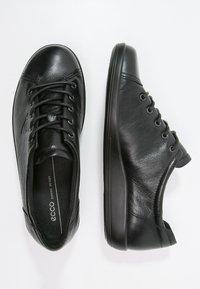 ECCO - SOFT 2.0 - Sneakers laag - black - 2