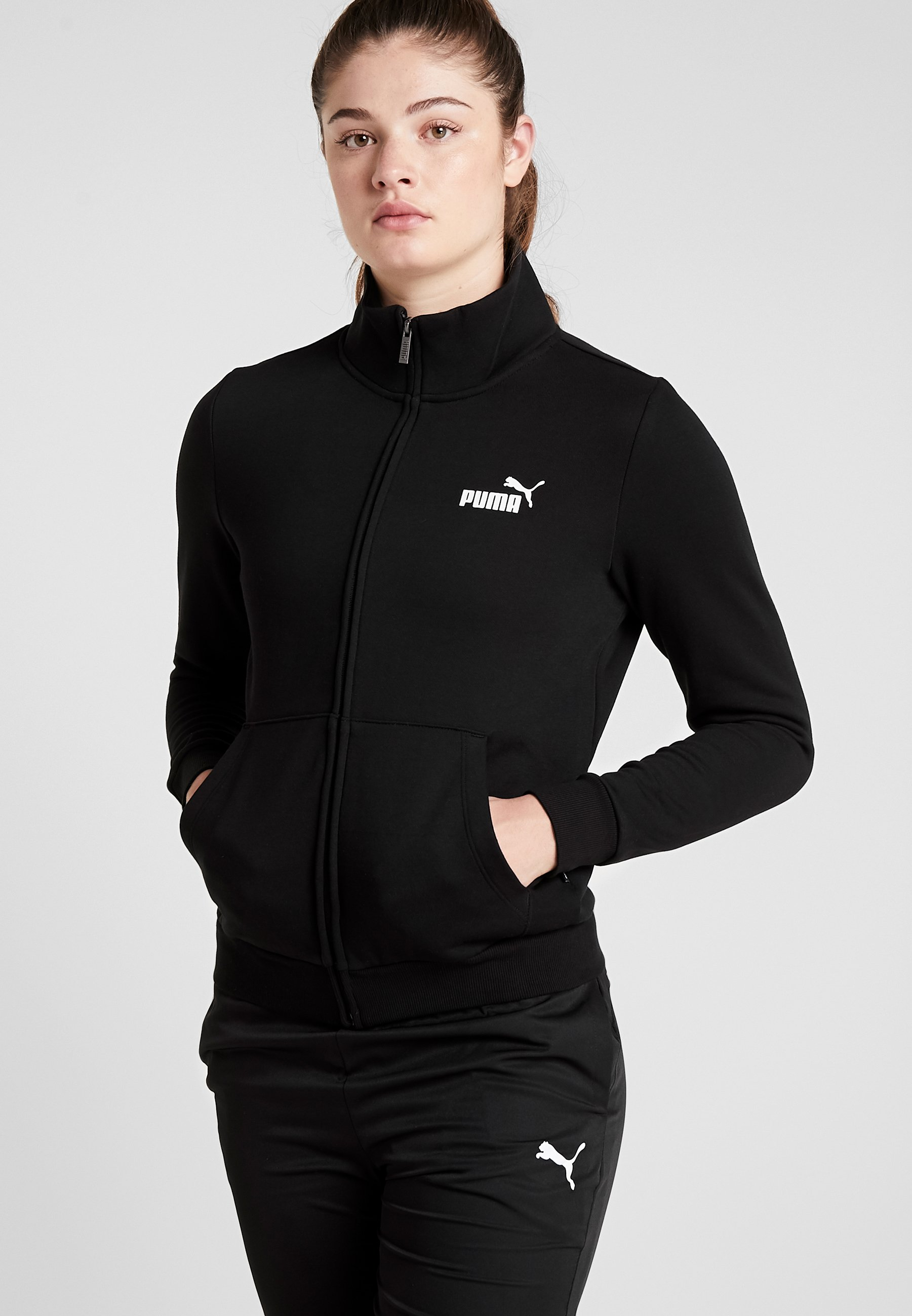 Femme TRACK  - Sweat à capuche zippé