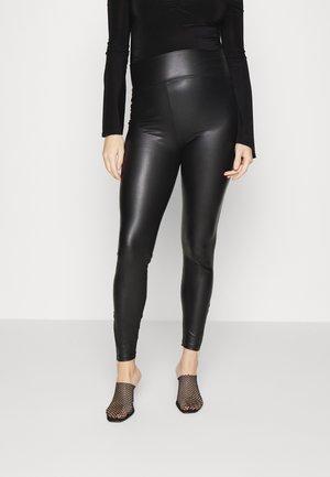PMAMINDA ZIP - Leggings - Trousers - black