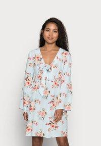 VILA PETITE - VIMESA SHORT DRESS PETITE - Day dress - cashmere blue - 0