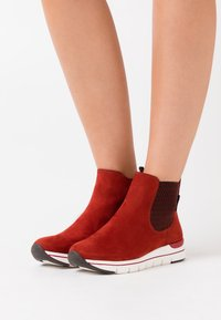 LOVE OUR PLANET by MARCO TOZZI - BOOTS - Ankle boots - brick - 0