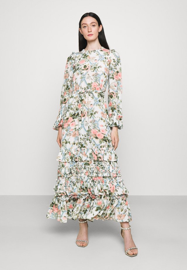 ESTHER ANKLE GOWN - Maxi-jurk - moonshine