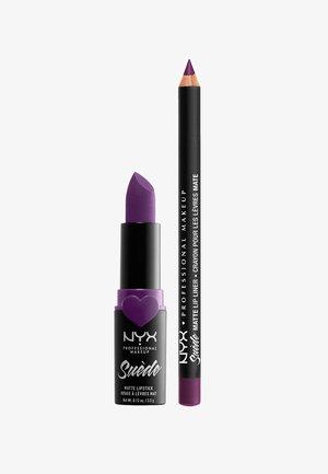 LOVE LUST DISCO SUEDE MATTE LIPSTICK SET - Makeup set - girl, bye