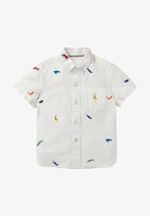 Shirt - naturweiß regenbogenfarbene tiere