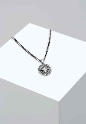 KOMPASS - Necklace - silver-coloured