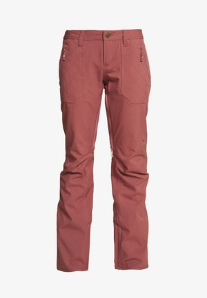 VIDA ROSE BROWN - Pantaloni da neve - rose brown