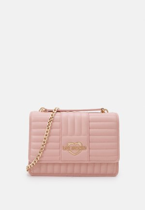 QUILTED SOFT - Across body bag - rosa