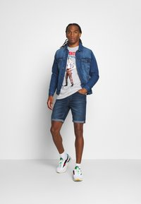 Only & Sons - ONSPLY - Denim shorts - blue - 1
