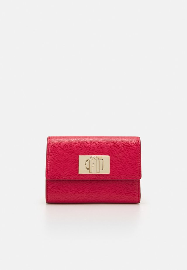 COMPACT WALLET - Lommebok - ruby