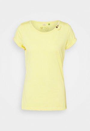 FLORAH - Basic T-shirt - yellow