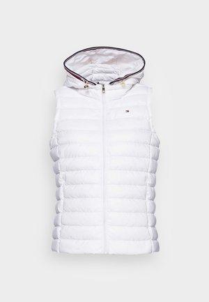 DOWN VEST - Waistcoat - optic white