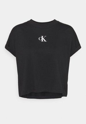 URBAN LOGO TEE - T-shirts med print - black