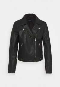 SLFKATIE JACKET - Leather jacket - rosin