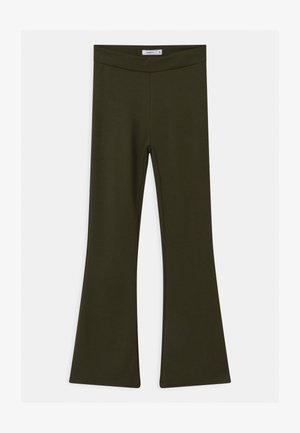 NKFFRIKKALI BOOTCUT  - Trousers - forest night