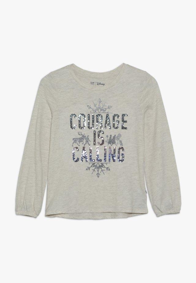 GIRL FROZEN - Pitkähihainen paita - light grey