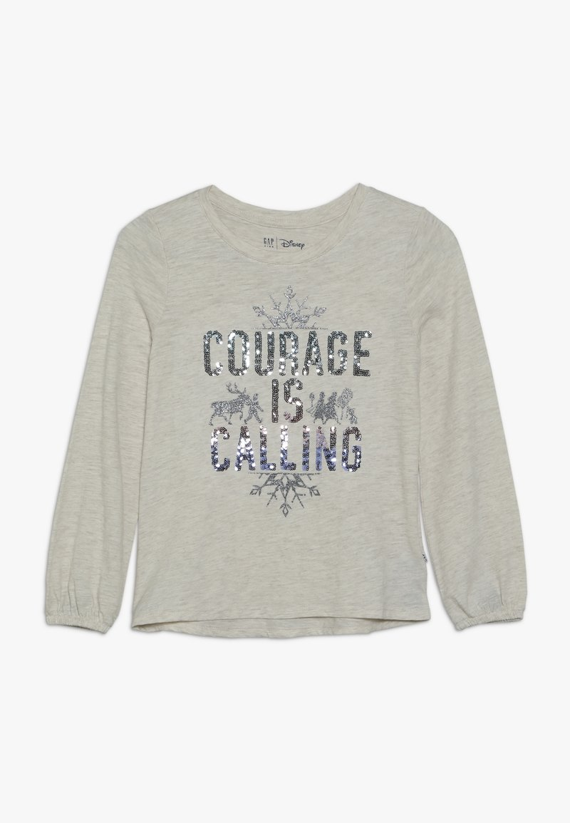 GAP - GIRL FROZEN - Top s dlouhým rukávem - light grey