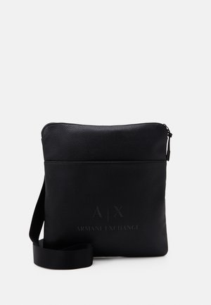 CROSSBODY BAG - Umhängetasche - black/gun metal