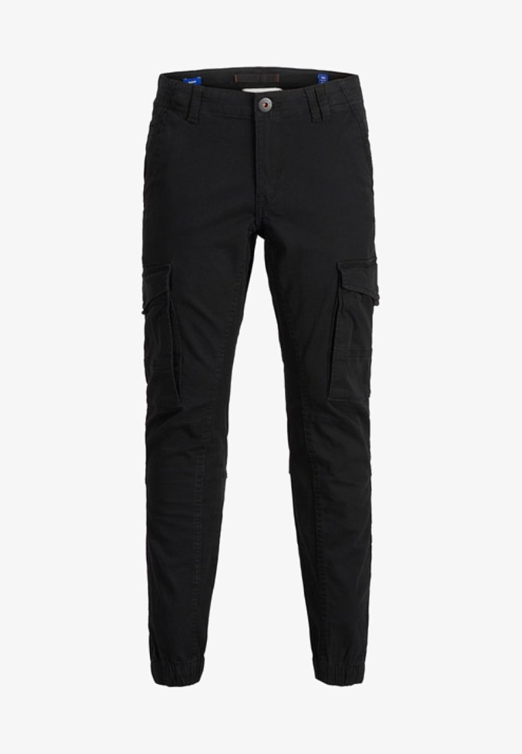 Jack & Jones Junior - Pantalones cargo - black