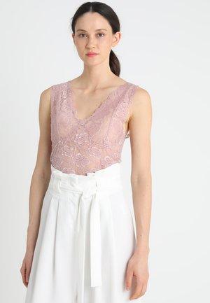 GLAZE LONG - Bluse - vintage rose