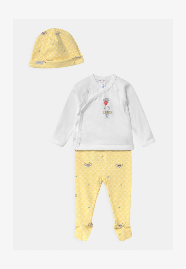 ENS LAYETTE UNISEX - Pyjamas - yellow/white