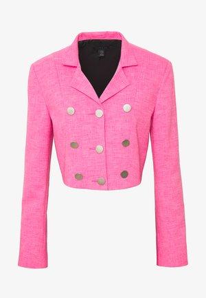 CROP  - Blazer - pink