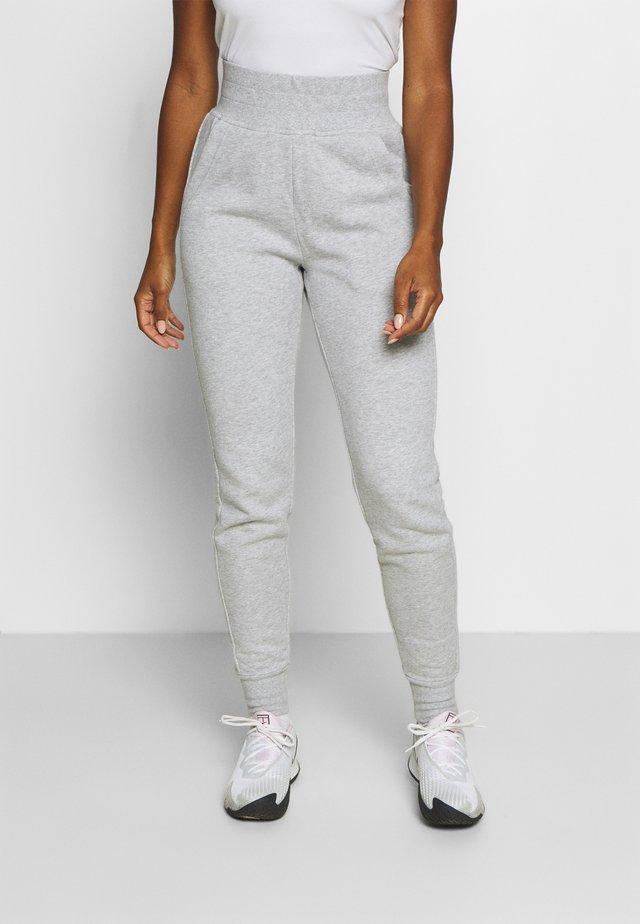 MIKA PANTS - Pantalones deportivos - light grey melange